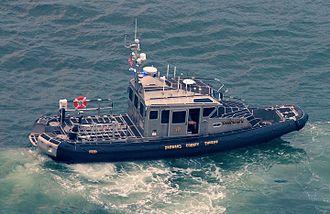Broward County Sheriff's Office - Harbor patrol near Port Everglades