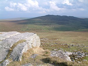 Brown Willy - Brown Willy from the summit of Rough Tor