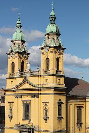 Józsefváros - Budapest, St. Joseph Parish Church