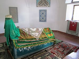 Gül Baba - The author of Meftahū'l-Ghayb Gül Baba was a Hurufi-Ostad of the Esoteric interpretation of the Quran, and later his türbe became an important Ziyarat/Pilgrimage place.