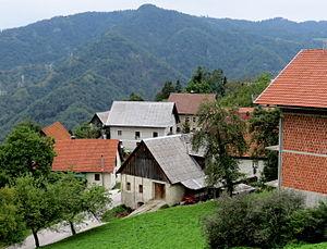 Bukovo, Cerkno - The hamlet of Kojca