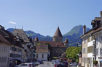 Bulle - The old town of Bulle