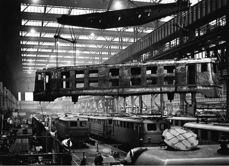 Bundesarchiv B 145 Bild-F009230-0011, Essen, Firma Krupp, Lokomotivbau