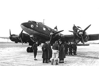 Focke-Wulf Fw 200 Condor - Adolf Hitler's personal Fw 200 Condor, bearing the insignia of the Fliegerstaffel des Führers on its nose