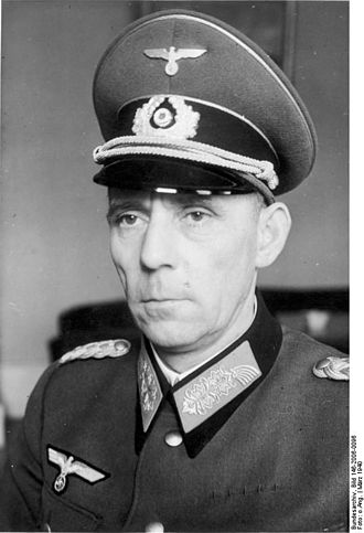 25th Panzer Division (Wehrmacht) - Adolf von Schell 1 January 1943 – 15 November 1943
