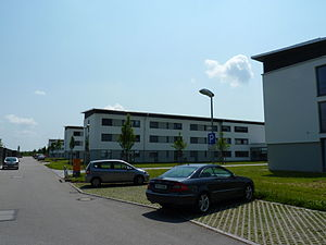 Bundeswehr University Munich - Most students live in the student dormitories on campus.