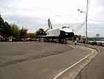 Buran on display in Gorky Park - isometric view.jpg