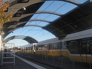 Burbank station (DART) DART light rail station in Dallas, Texas