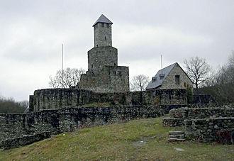 Grimburg - Image: Burg Grimburg 5