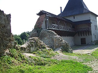 Béla IV of Hungary - Ruins of the fortress of Halych