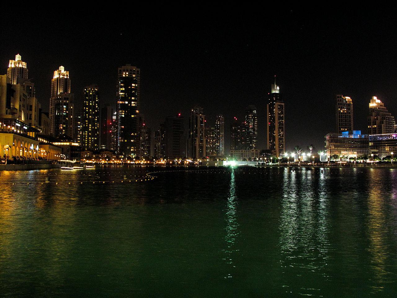 File:Burj Khalifa Lake (8718465860).jpg