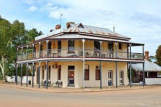 Burracoppin, Western Australia - The former Burracoppin Hotel, 2017
