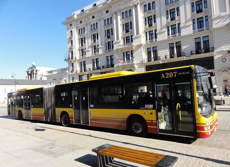 Варшавская полиция проверки водителей автобусов на алкоголь и наркотики