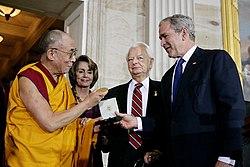 250px-Bush%2C_Byrd_and_Pelosi_awarding_t