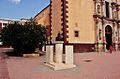 Bust of Ioannes Paulus II, Saint Francis of Assisi Church, San Francisco del Rincón, Guanajuato State, Mexico.jpg