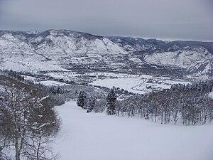 Buttermilk (ski area) - Image: Buttermilk in Winter