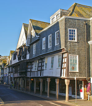 Dartmouth, Devon - The Butterwalk