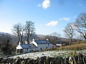 Dinorwig - Image: Bwthyn Congl y mynydd Cottage, Dinorwig geograph.org.uk 318495