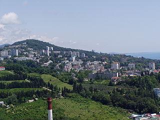 District in Krasnodar Krai, Russia