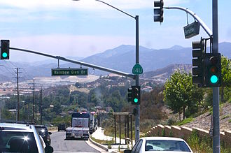 "Sierra Highway - Sierra Highway in Santa Clarita. Although Route 14 was moved to a freeway bypass years ago, this portion remains under state control in a state of bureaucratic limbo, signed as Route 14 ""Un-relinquished"""