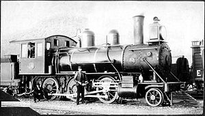CGR 1st Class 2-6-0 1891 - Image: CGR 1st Class 2 6 0 1891 Baldwin no. 1A