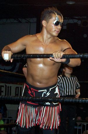 IWRG Intercontinental Welterweight Championship - Shiima Nobunaga, the second ever Welterweight champion