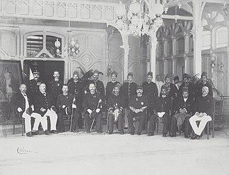 Alauddin Muhammad Da'ud Syah II - Sultan Muhammad Daud Syah after submission in Banda Aceh, 20 January 1903