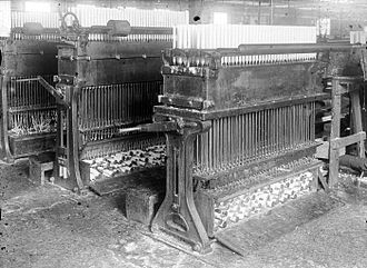 History of candle making - Candle moulding machine in Indonesia circa 1920