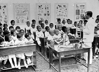 Chinese Indonesians - The first Dutch Chinese Schools were established in 1892 following a split in curriculum from the native population.