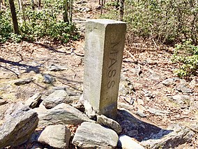 CT MA NY Boundary Marker on Mount Frissell Trail.jpg