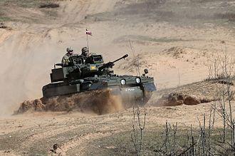 Combat Vehicle Reconnaissance (Tracked) - CVR(T) Scimitar Demonstration In Latvia