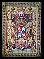 Ca' Rezzonico - Arazzo con lo stemma della famiglia Tiepolo. Fabbricazione francese del XVIII (Gilles Bacor) - 02.jpg