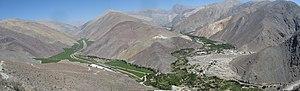 Transverse Valleys - Image: Cabecera Rio Huasco