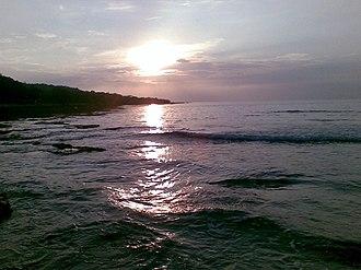 Cabugao - Sunset at Cabugao Beach