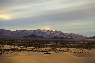 San Bernardino County, California - Cadiz Dunes Wilderness