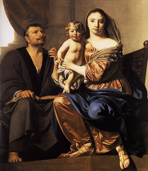 Caesar van Everdingen The Holy Family 1660