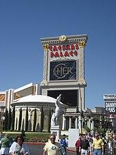 Anúncio do show de Cher em Las Vegas