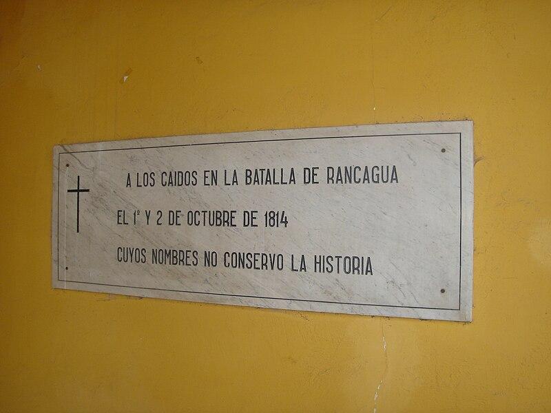 Independencia de Chile: Desastre de Rancagua (1814) 800px-Caidos_Batalla_de_Rancagua