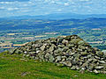 Cairn at summit of Corndon Hill - geograph.org.uk - 652738.jpg