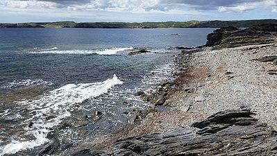 Cala Sur del Faro Favàritx.(al fondo Playa Tortuga y Cala Presili).Mahón.Menorca.jpg