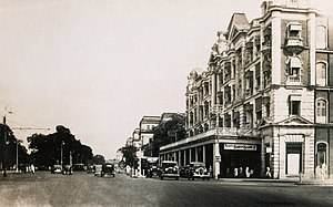Chowringhee Road - Chowringhee Road in the 1930s