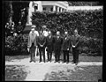 Calvin Coolidge and group outside White House, Washington, D.C. LCCN2016888848.jpg