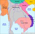Cambòtja - Empèri Khmer dins lo corrent dau sègle XII.png