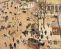 Camille Pissarro, La Place du Théâtre Français.jpg