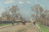 Camille Pissarro - The Avenue, Sydenham - National Gallery London.jpg
