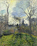 Camille Pissarro - The Bell Tower of Bazincourt.jpg