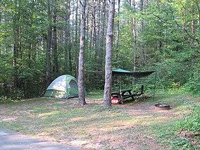 Campsite, Otter River State Forest, Winchendon MA.jpg