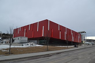 Canada's Sports Hall of Fame - Canada's Sports Hall of Fame building in Calgary