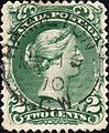 Canada 2c Large Queen postage stamp on laid paper.jpg