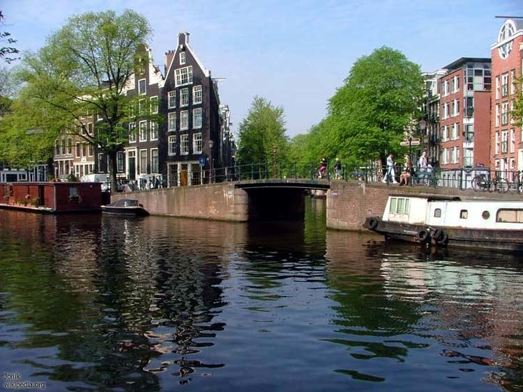 Canals of Amsterdam - Jordaan area